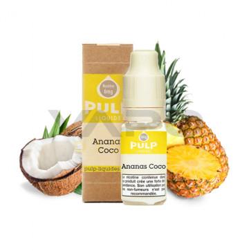 Liquide prêt à vaper PULP - Ananas Coco 10ml
