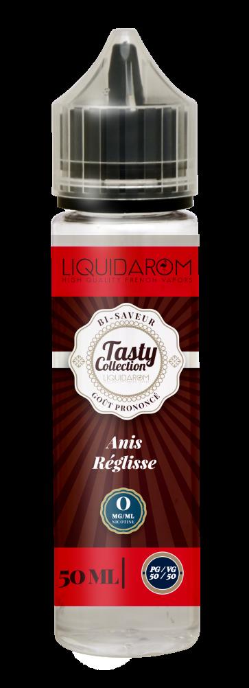 Liquide prêt-à-vaper Tasty Collection - Anis Réglisse - 50ml