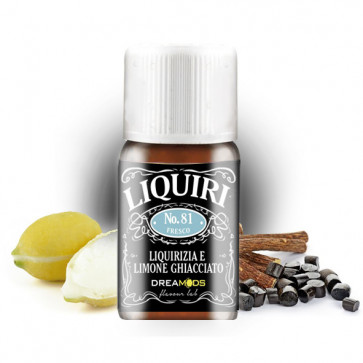 Arôme Dreamods - No.81 Liquiri Ghiacciato 10ml