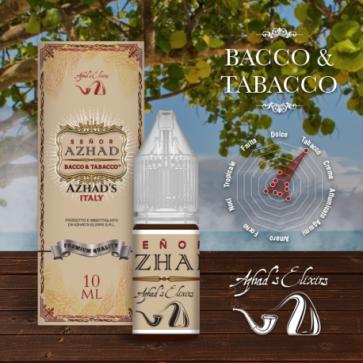 Liquide prêt-à-vaper Azhad's Elixirs 10ml - Bacco & Tabacco - Senor Azhad
