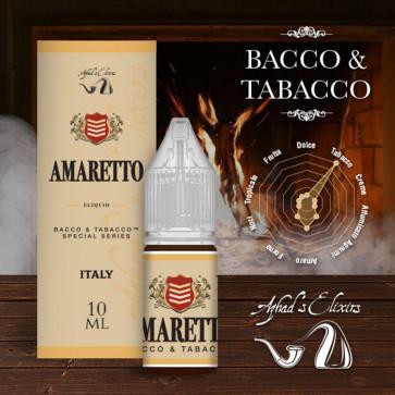 Liquide prêt-à-vaper Azhad's Elixirs 10ml - Bacco & Tabacco - Amaretto