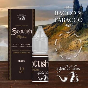 Liquide prêt-à-vaper Azhad's Elixirs 10ml - Bacco & Tabacco - Scottish