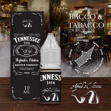 Liquide prêt-à-vaper Azhad's Elixirs 10ml - Bacco & Tabacco - Tennessee Jack