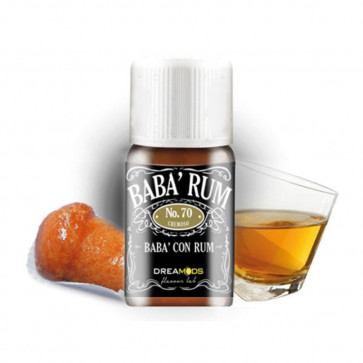 Arome Dreamods Babà Rum No.70 - 10ml