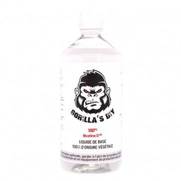 Base 100%PG 1L Gorilla's DIY (0 mg/ml)