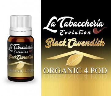 Extrait de tabac La Tabaccheria - Organic 4Pod - Black Cavendish 10ml