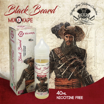 Liquide Prêt-à-Booster Valkiria - Black Beard - 40ml