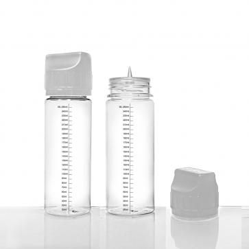 Chubby Flacon vide plastique rigide 250ml pour DIY pour eliquide d'e-cigarette