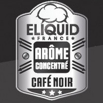 Concentré Eliquid France - Café Noir - 10ml