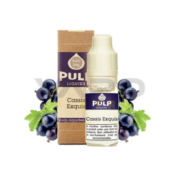 Pulp Cassis exquis 10ml pas cher