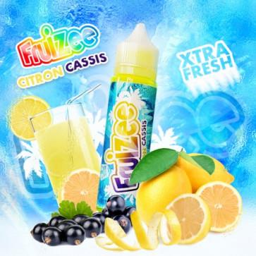 Liquide prêt-à-vaper - Fruizee - Citron Cassis - 50ml