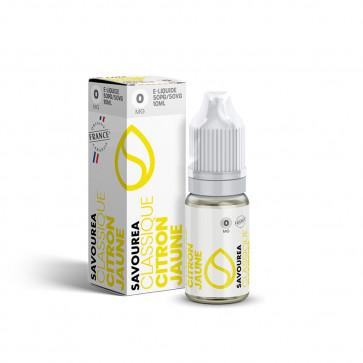 Liquide prêt à vaper Savourea - Classique Citron jaune - 10ml