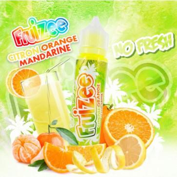 Liquide prêt-à-vaper Fruizee - Citron Orange Mandarine No Fresh - 50ml