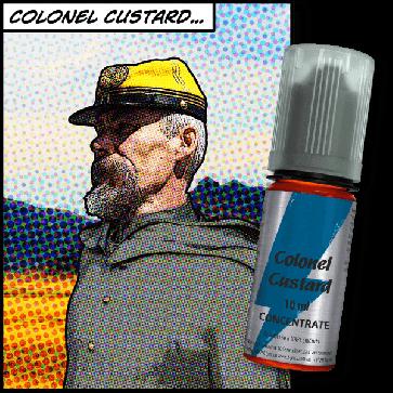 Concentré T-Juice - Colonel Custard 10ml