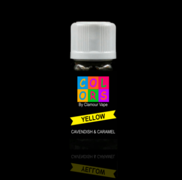 Clamour Vape Yellow 10ml arôme concentré tabac à pipe