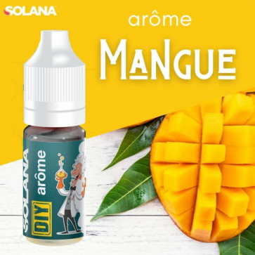 Arôme voncentré SOLANA Mangue naturelle 10ml