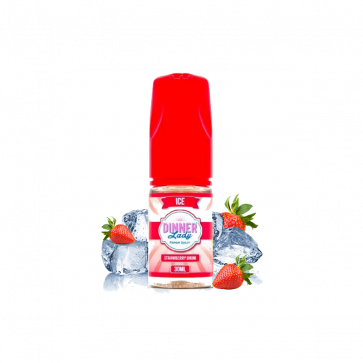 Concentré Dinner Lady - Strawberry bikini ice - 30ml