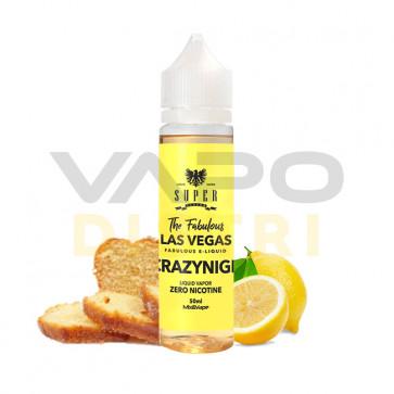 Liquide prêt-à-booster Super Flavor - Crazy Night - 50ml