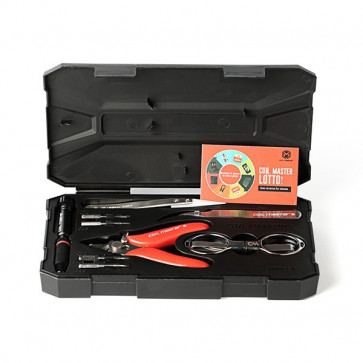 Kit d'outils coil master V2 ouvert contenu