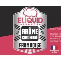 Concentré Eliquid France Framboise 10ml pas cher