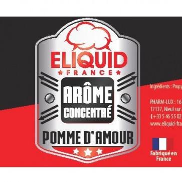Concentré Eliquid France Pomme d'amour 10ml pas cher