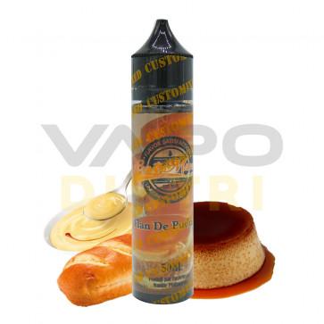 E-liquide Customixed Flan de pudding - 50ml