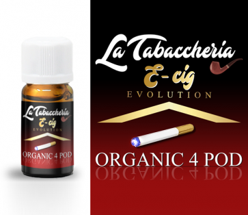 Concentré La Tabaccheria - Organic 4Pod - E-Cig 10ml