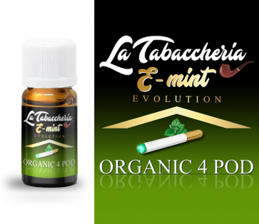 Extrait de tabac La Tabaccheria - Organic 4Pod - E-Mint 10ml