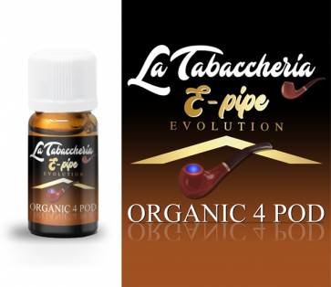 Concentré La Tabaccheria - Organic 4Pod - E-Pipe 10ml