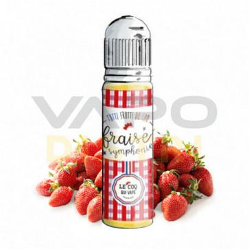 Liquide Tutti Frutti du Coq - Fraise Symphonie - 50ml