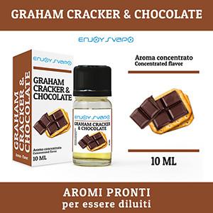 Arôme EnjoySvapo - Graham Craker & Chocolat 10ml