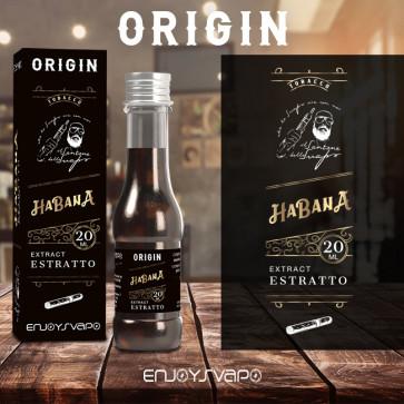 Extrait de tabac Enjoysvapo - Habana - 20ml [DLUO: 02/2021]