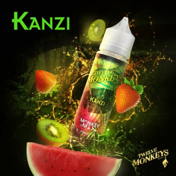 Liquide prêt-à-vaper Twelve Monkeys Vapors - Kanzi - 50ml