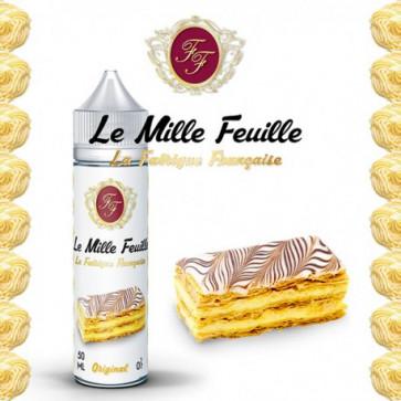 Liquide Prêt-à-Vaper La Fabrique Française - Le mille feuille - 50ml + 1 booster 18mg/ml