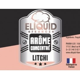 Arome concentré LITCHI d'Eliquid France pas cher 10ml