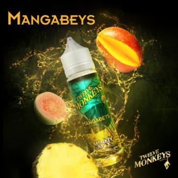 Liquide prêt-à-vaper Twelve Monkeys Vapors - Mangabeys - 50ml