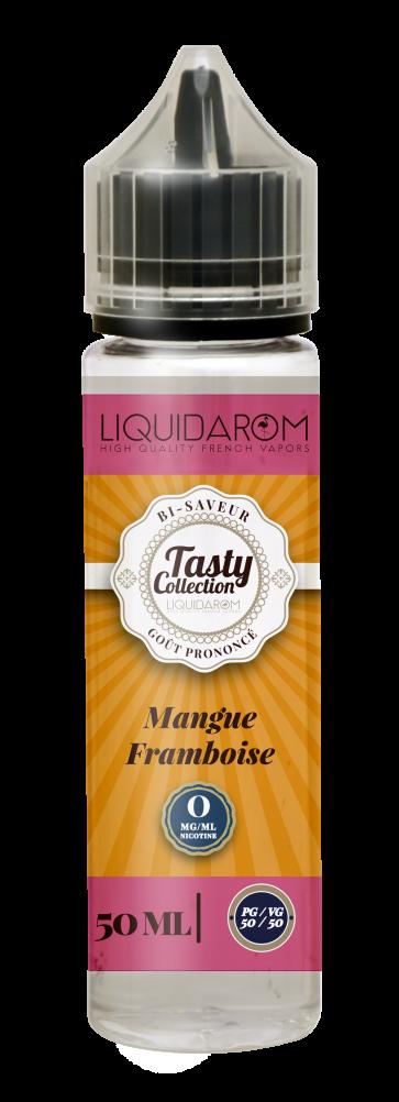 Liquide prêt-à-vaper Tasty Collection - Mangue Framboise - 50ml