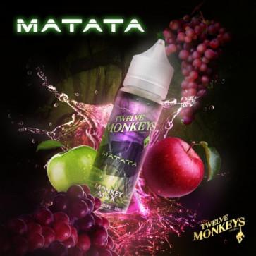 Liquide prêt-à-vaper Twelve Monkeys Vapors - Matata - 50ml