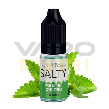 Liquide Prêt-à-Vaper Salty - Menthe Chloro - 10ml