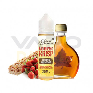 Liquide prêt-à-vaper Seven Wonders - Mother's Krisp 50ml (0mg)