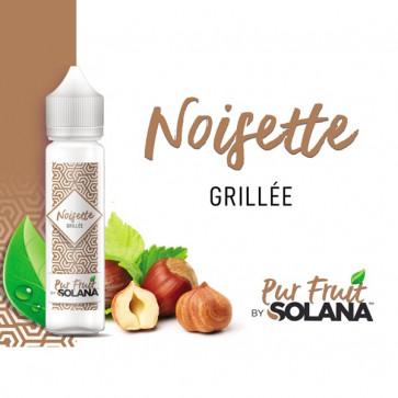 Liquide prêt-à-booster Pur Fruit by Solana - Noisette grillée - 50ml