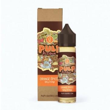 Liquide prêt-à-vaper - Pulp - Pulp Kitchen - Orange Épicée - 50ml