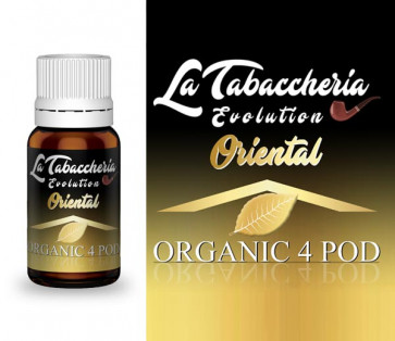 Extrait de tabac La Tabaccheria - Organic 4Pod - Oriental 10ml