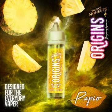 Liquide prêt-à-vaper Twelve Monkeys Vapors ORIGINS - Papio - 50ml