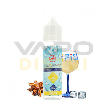 Liquide Prêt-à-Vaper Liquidarom - Pastis 13 - 50ml