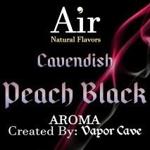 Cavendish Peach Black Vapor Cave 11ml arome concentré etiquette
