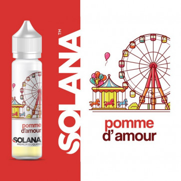 Liquide prêt-à-booster - Solana Pomme d'Amour - 50ml