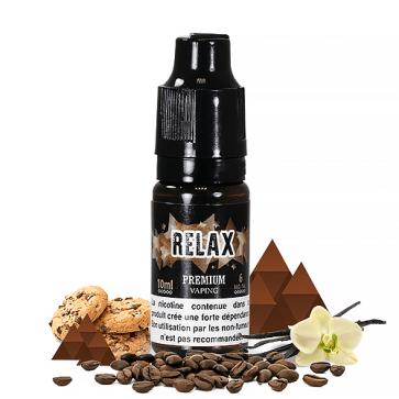 Liquide prêt-à-vaper Eliquid France Premium - Relax - 10ml