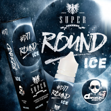 Liquide Prêt-à-Booster Super Flavor - Round Ice #D77 - 50ml