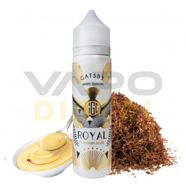 Liquide prêt-à-vaper Gatsby White Édition - Royal - 50ml